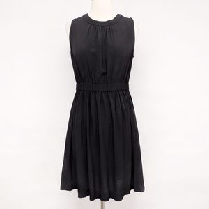 boden | black sleeveless bow tie back dress sz S